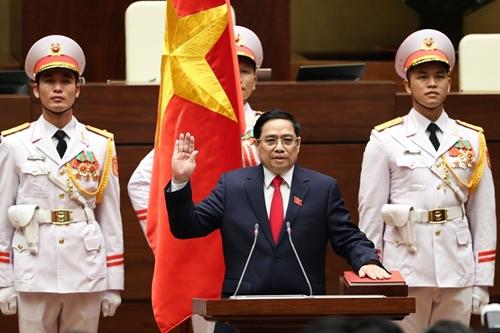 Thủ tướng Vương quốc Cam-pu-chia gửi Thư chúc mừng Thủ tướng Phạm Minh Chính