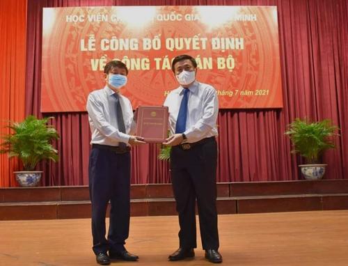 PGS TS Phạm Minh Sơn làm Giám đốc Học viện Báo chí và Tuyên truyền