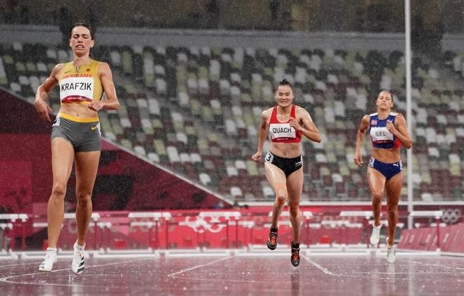 Vận động viên cuối cùng của Đoàn thể thao Việt Nam chia tay Olympic