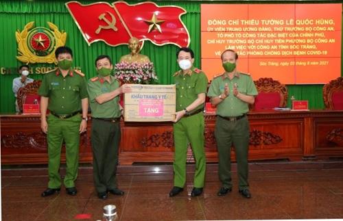 Tổ Công tác đặc biệt của Chính phủ làm việc tại tỉnh Sóc Trăng