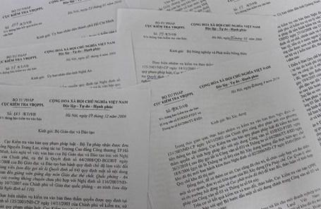 Khẩn trương rà soát văn bản pháp luật về lĩnh vực tài nguyên môi trường