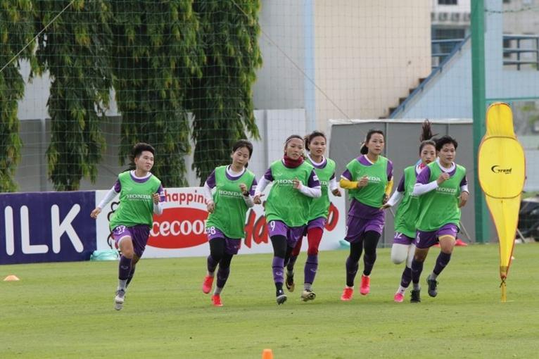 Đội tuyển nữ Quốc gia điều chỉnh kế hoạch tập luyện do dịch COVID-19