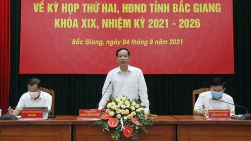 Kỳ họp thứ 2 HĐND tỉnh Bắc Giang dự kiến xem xét, thông qua 18 nghị quyết