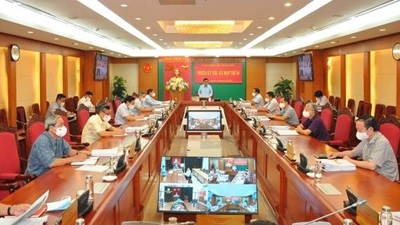 Kỳ họp thứ năm của Ủy ban Kiểm tra Trung ương khóa XIII