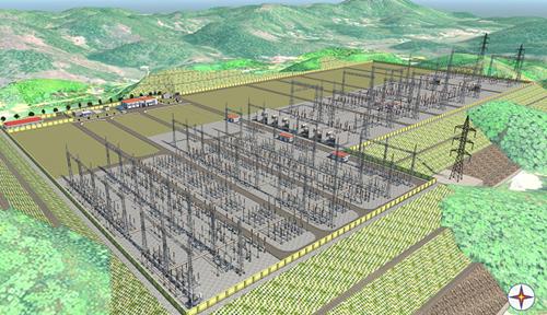 EVN phê duyệt dự án Trạm biến áp 500kV Lào Cai và các đường dây 220kV đấu nối