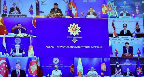 ASEAN - Niu-di-lân sẽ bảo đảm hoà bình, an ninh, ổn định ở khu vực