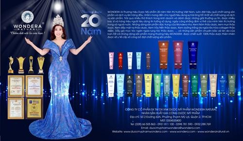 Công ty cổ phần Dược mỹ phẩm Wondera Natural 20 năm xây dựng và phát triển
