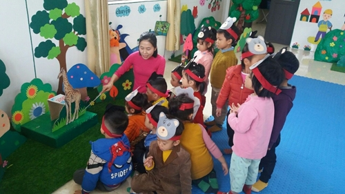 Trường Mầm non Đồng Liên Thái Nguyên  Nơi khởi đầu vững bước tương lai
