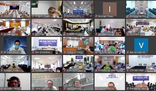 EVN tổ chức hội nghị phổ biến quy chế quản lý nội bộ