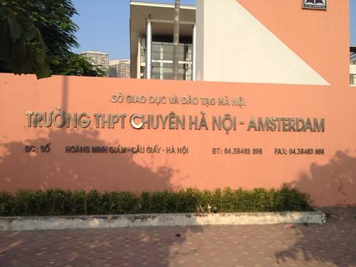 Trường THPT Chuyên Hà Nội - Amsterdam xét tuyển học sinh lớp 6