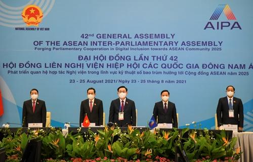 Khai mạc trọng thể Đại hội đồng AIPA-42