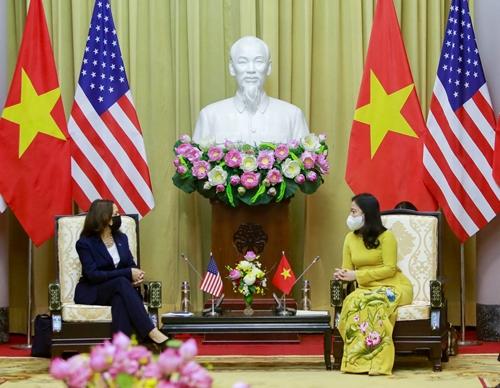 Hoa Kỳ - một trong các đối tác quan trọng hàng đầu của Việt Nam