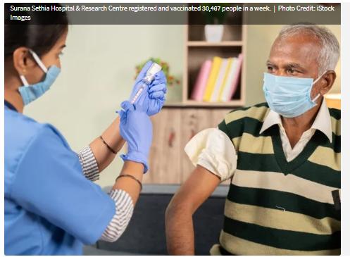 Bệnh viện ở Ấn Độ lập kỷ lục thế giới Guinness về tiêm chủng vaccine COVID-19