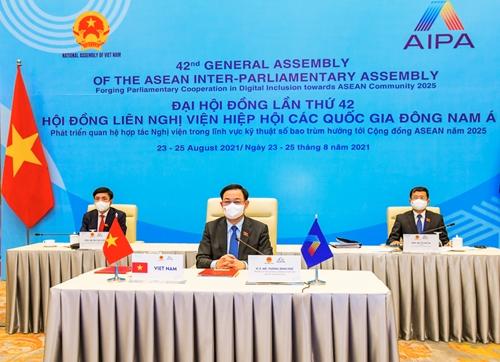 Bế mạc AIPA-42 Vì một cộng đồng ASEAN gắn kết và thích ứng