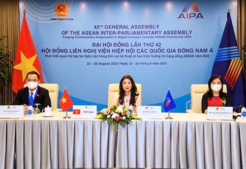 Thông qua nhiều nội dung quan trọng củng cố tổ chức và hoạt động của AIPA
