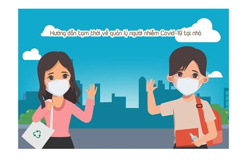 Hướng dẫn tạm thời về quản lý người nhiễm COVID-19 tại nhà