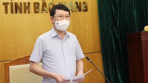 Chủ tịch UBND tỉnh Bắc Giang Hai ổ dịch mới phát sinh đã được khống chế