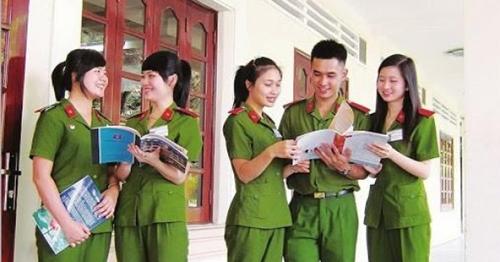 Ngưỡng đảm bảo chất lượng đầu vào của các trường công an từ 17,75 điểm trở lên