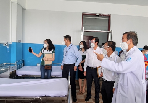 Thêm hệ thống oxy cho 400 giường điều trị COVID-19 tại Bệnh viện Bệnh Nhiệt đới TP Hồ Chí Minh