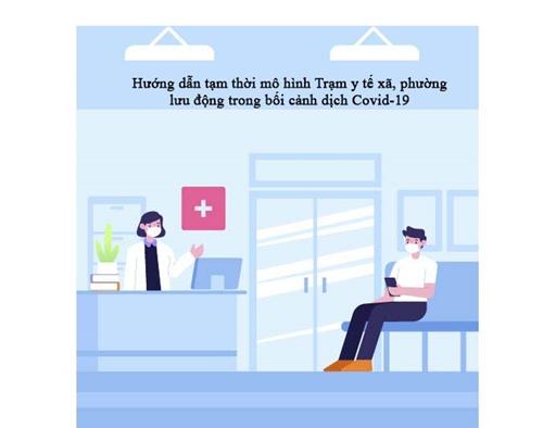 Hướng dẫn tạm thời mô hình Trạm y tế xã, phường lưu động trong bối cảnh dịch COVID-19