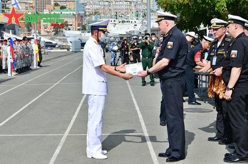 """Bế mạc môn thi """"Cúp biển"""", Bộ đội Hải quân Việt Nam thắng lớn"""