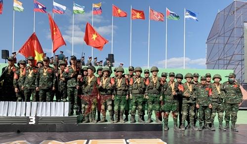 Công binh xuất sắc giành Huy chương Đồng tại Army Games 2021