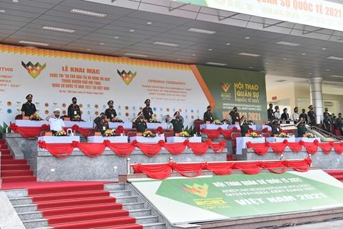 Khai mạc các nội dung thi đấu Army Games 2021 tại Việt Nam