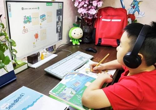 Hà Nội Học sinh lớp 1 học trực tuyến tối đa 3 tiết mỗi ngày