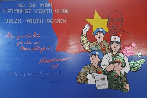 Chi đoàn Thanh niên BVDC 2 3 sáng tạo tranh cổ động hướng về Tổ quốc