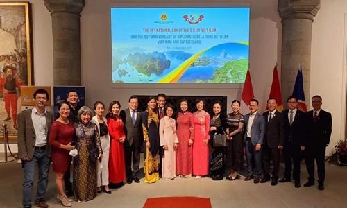 Quan hệ hợp tác Việt Nam – Thụy Sĩ tiếp tục mở rộng và đi vào chiều sâu