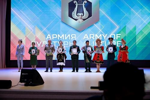 """""""Đội quân văn hóa"""" Việt Nam đoạt hai cúp và 6 giải thưởng tại Army Games 2021"""