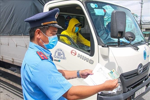 Hướng dẫn tạm thời vận tải bằng ô tô trong thời gian phòng, chống COVID-19