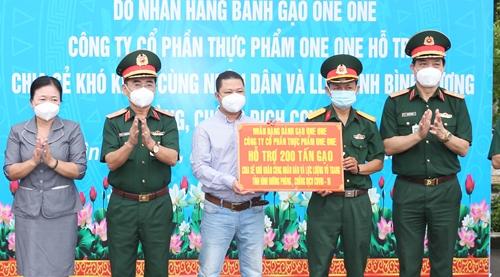 Chương trình 1 000 tấn gạo tình thương đến với miền Nam chống dịch