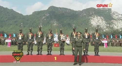 """Army Games 2021 tại Việt Nam Lễ trao giải và bế mạc hai nội dung """"Xạ thủ bắn tỉa"""" và """"Vùng tai nạn"""""""