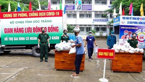 Bộ đội tỉnh Sóc Trăng đẩy mạnh phong trào thi đua Quyết thắng