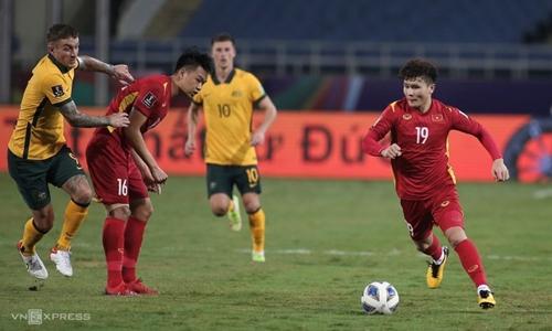 Thi đấu quật cường, Việt Nam vẫn thua Australia tại vòng loại World Cup
