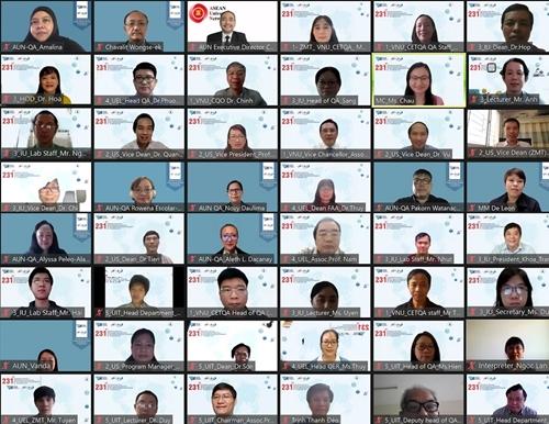 AUN đánh giá 4 chương trình đào tạo của Đại học Quốc gia TP Hồ Chí Minh