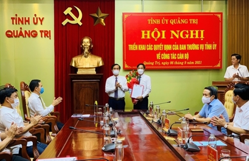Bổ nhiệm đồng chí Lê Minh Tuấn làm Giám đốc Sở VH,TT DL tỉnh Quảng Trị