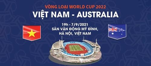 Thông tin trước trận đấu Việt Nam - Australia