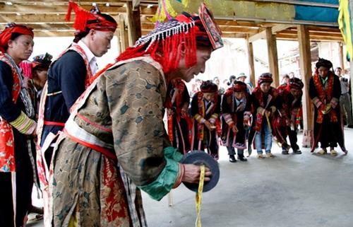 Lễ cấp sắc của người Dao đỏ