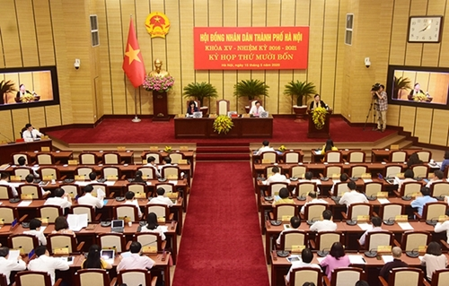 Kỳ họp thứ hai HĐND TP Hà Nội diễn ra trong hai ngày 14-15 9