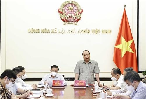 Chủ tịch nước Nguyễn Xuân Phúc chủ trì họp hoàn thiện mô hình hoạt động Ban Chỉ đạo Cải cách tư pháp Trung ương