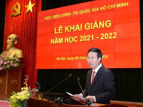 Thể hiện rõ tầm vóc, trí tuệ, bản sắc, vai trò, tầm quan trọng của Học viện Chính trị quốc gia Hồ Chí Minh