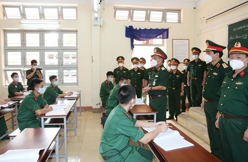 Trường Sĩ quan Kỹ thuật Quân sự Đảm bảo chất lượng giáo dục trong điều kiện dịch bệnh