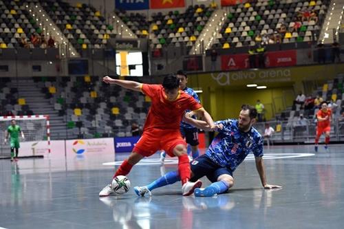 ĐT futsal Việt Nam cố gắng giành kết quả tốt tặng người hâm mộ