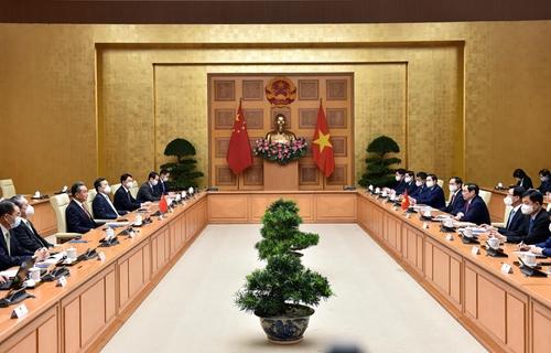 Việt Nam coi trọng phát triển quan hệ với Trung Quốc