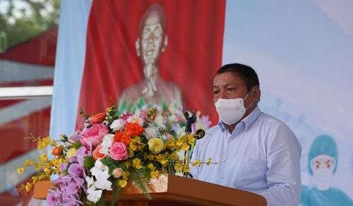 Bệnh viện Thể thao Việt Nam chi viện cho miền Nam chống dịch