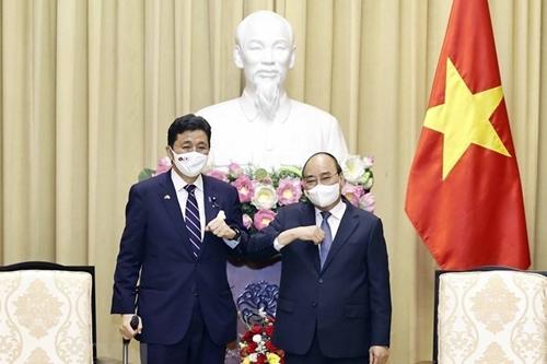 Chủ tịch nước đề nghị Nhật Bản hỗ trợ Việt Nam sản xuất vaccine