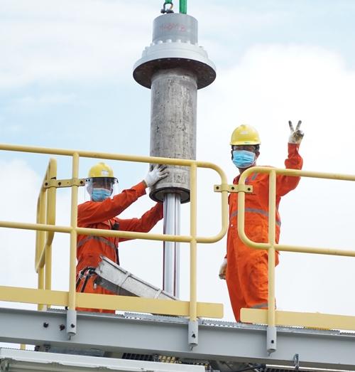 NCSP hoàn thành vượt tiến độ công tác bảo dưỡng lớn hệ thống khí Nam Côn Sơn 1