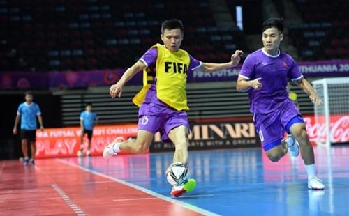 Tuyển Futsal Việt Nam sẵn sàng gặp tuyển Futsal Brazil